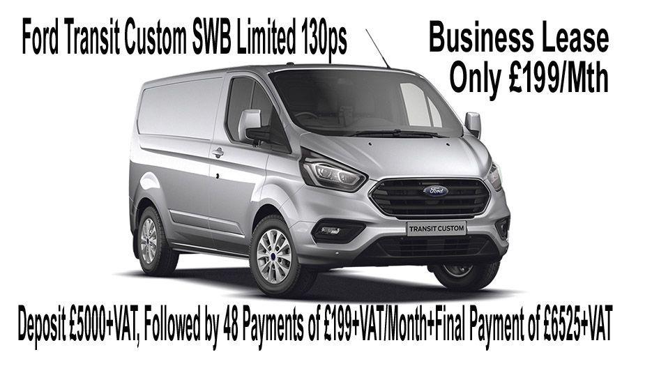 5551831fa98b FORD TRANSIT CUSTOM 280 L1 DIESEL FWD 2.0 TDCi 130ps Low Roof Limited Van